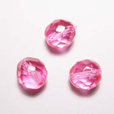 facet roze 10 mm