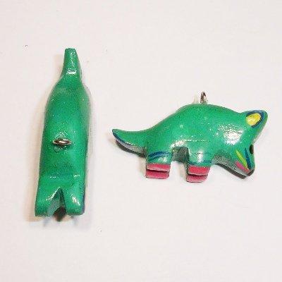 bedel muis groen ca. 30x12 mm