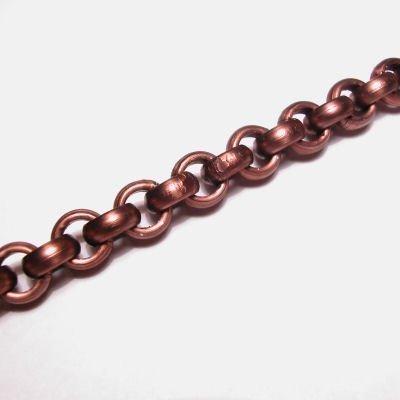 jasseron brons 8,5 mm, binnenmaat 5 mm