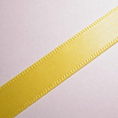 satijnlint 10 mm geel