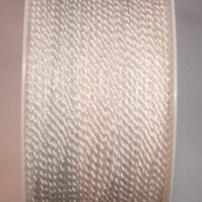 Deko-koord, 2 mm, wit