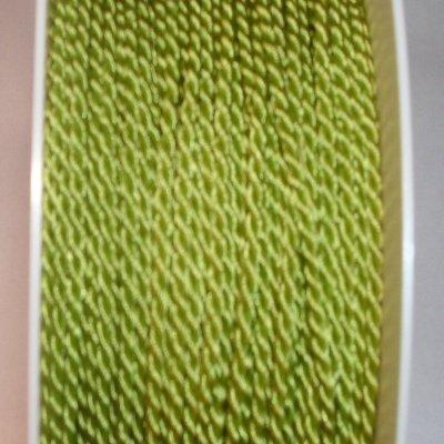 Deko-koord, 2 mm, l.groen