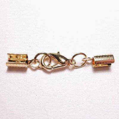 vetersluiting goud 3 mm