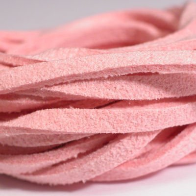 veter kunstsuede roze 3 mm