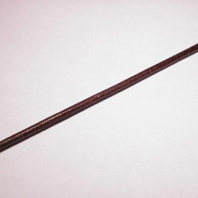 rond runderleer d.bruin 2 mm
