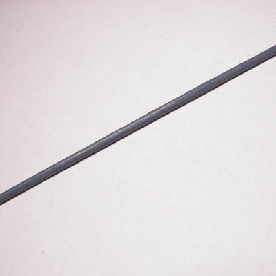 rond runderleer grijs 2 mm
