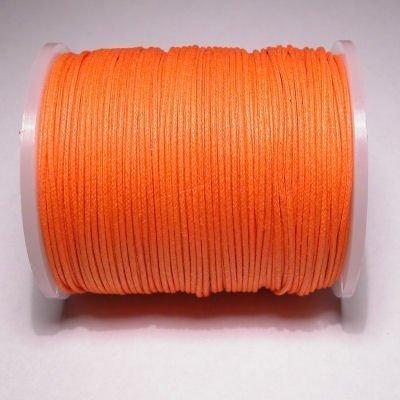 waxkoord 1mm oranje
