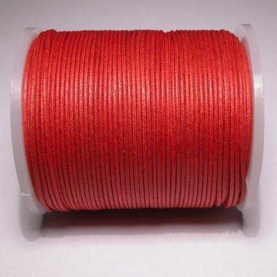 waxkoord 1mm rood