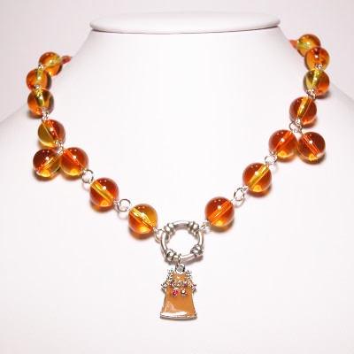 halssierraad geel/oranje