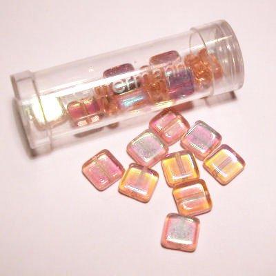 kwadraatparels 8 mm kleur 4985