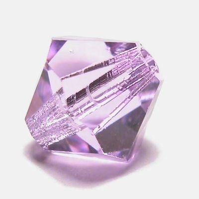 swarovski facet 4mm violet