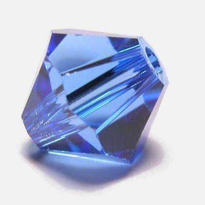 swarovski facet 4mm sapphire