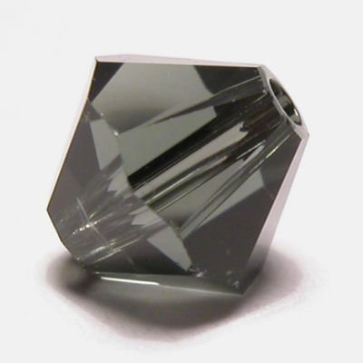 swarovski facet 4mm morion