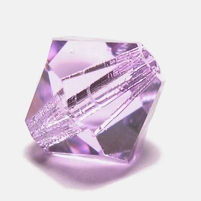 swarovski facet 6mm violet