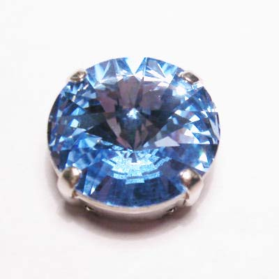 steen in kastje 14 mm hell safir
