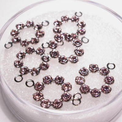 tussenzetsel krans 15 mm violet