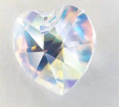 swarovski hanger hart cristal 10 mm