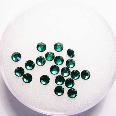 swarovski plaksteen rond emerald 3 mm