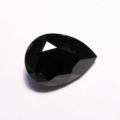 similisteen druppel zwart 10x7 mm