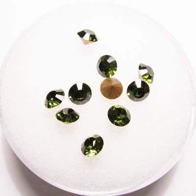 swarovski similisteen rond olivine 4 mm