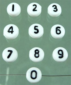 """cijfer """"6"""""""