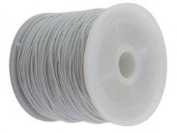 elastisch draad/stiek 1 mm wit