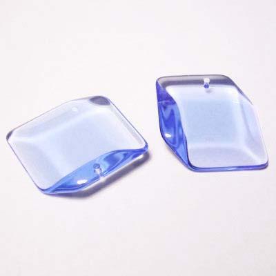 acryl ruit blauw 28 mm