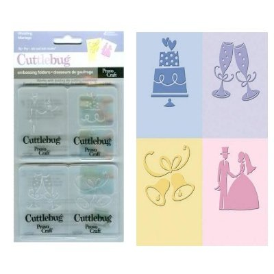 "Embossing set ""wedding"""