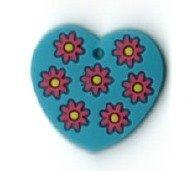 Add-ies hart met bloemen
