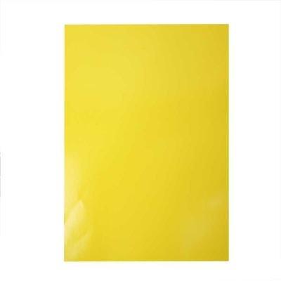 Glanspapier 32x48 cm geel