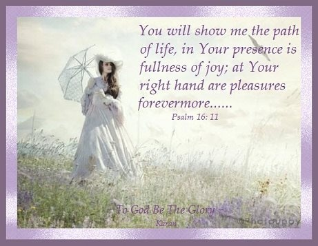 My prayer of confidence