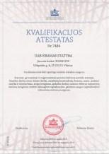 Kvalifikacijos atestatas