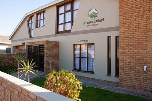 Kramersdorf Guesthouse Front Entrance