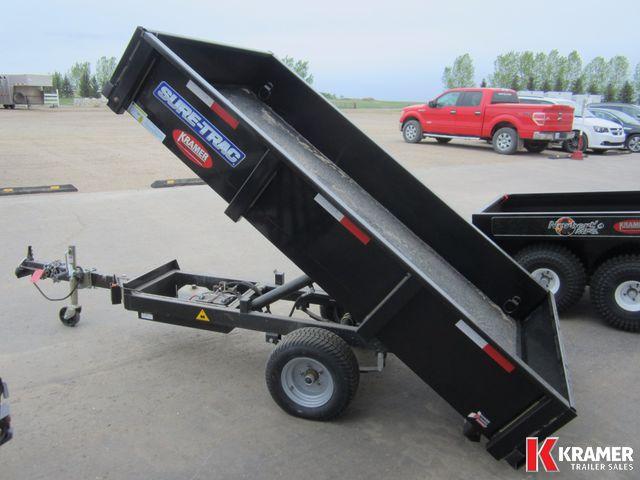 2016 Sure Trac St5408d 4 5x8 Utility Dump Trailer Kramer