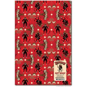 Krampus Wrapping Paper