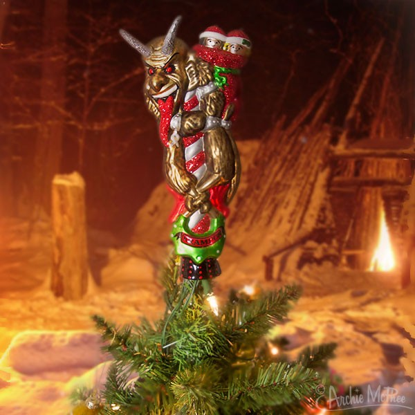 Krampus Tree Topper