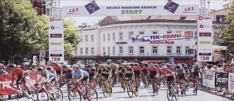 Zapore prometa zaradi kolesarskih dirk