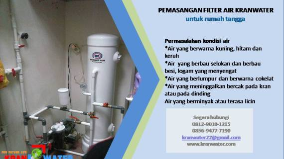 Agen Filter Air Industri Terpercaya di Talang Ubi