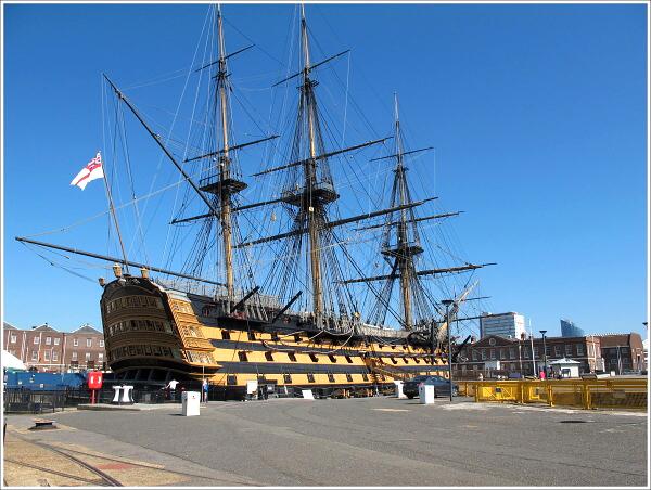 Victoria, slavná loď z bitvy u Traffalgaru