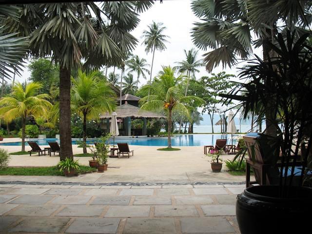 Restaurace v tropickém ráji