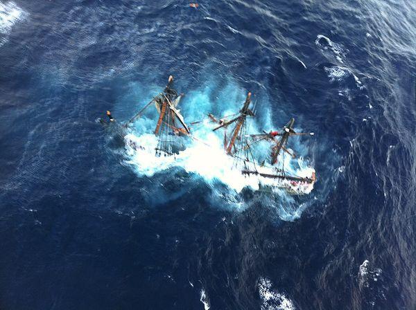 Bounty jde ke dnu. Zdroj: Wikipedie