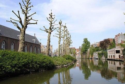 Příjezd do Gentu