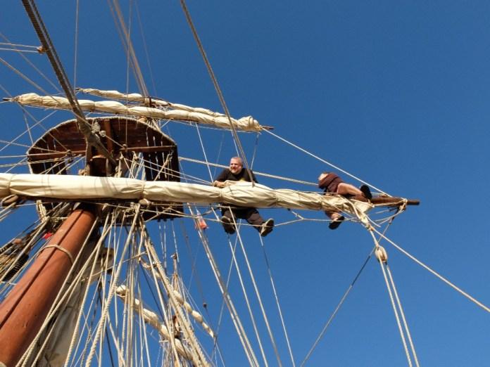 Posádka v lanoví