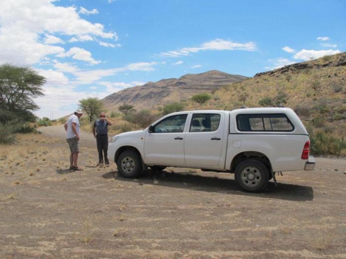 Namibijské safari.
