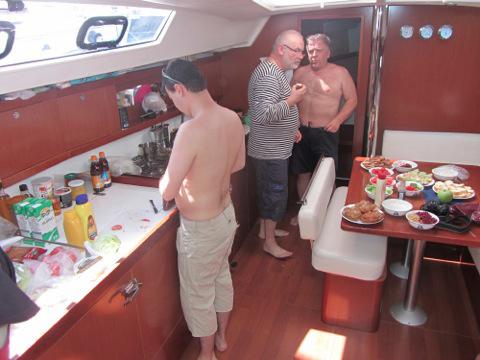 Kulinářský týden na lodi.