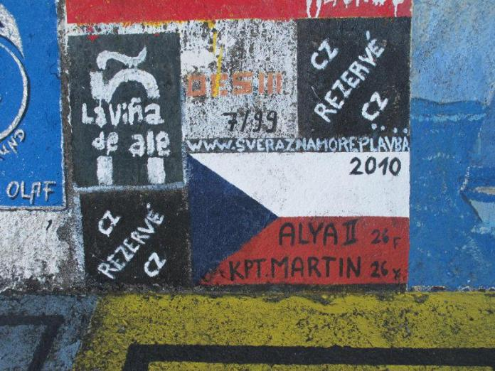 Stopa Martina Dolečka.