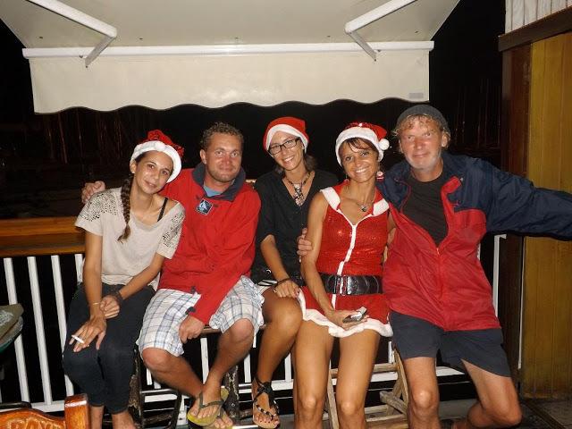 Vánoce na Martiniku.