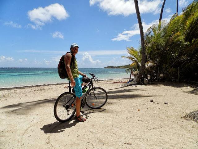 Překrásné pláže na Martiniku.