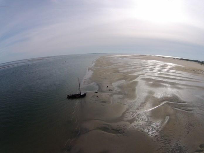 Zakotvit na mělčině je opravdu úžasný zážitek.