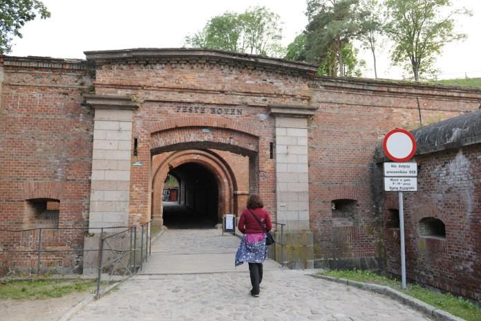 Vchod do pevnosti.